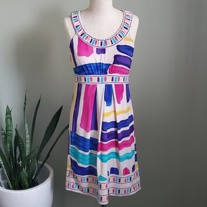 BCBGMaxAzria Colorful Dress Size Small